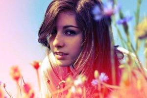 shenameslily brunette model women face depth of field
