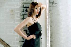 sophie ellis bextor women brunette black dress