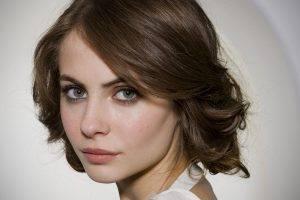 women brunette willa holland green eyes face
