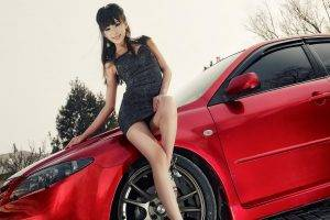 women model car asian