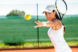 model tennis women brunette