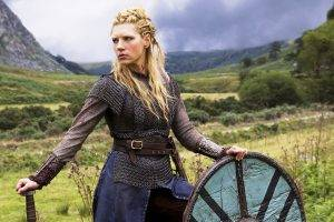 women lagertha lothbrok katheryn winnick actress vikings tv series blonde