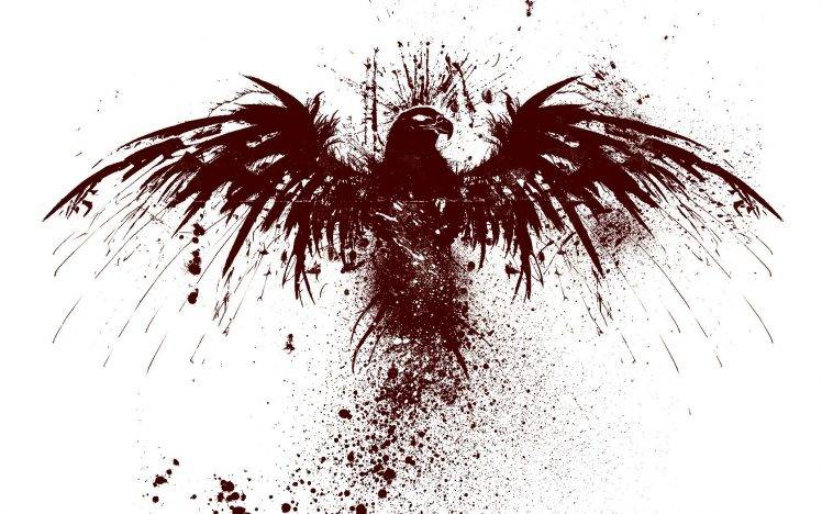 eagle blood HD Wallpaper Desktop Background