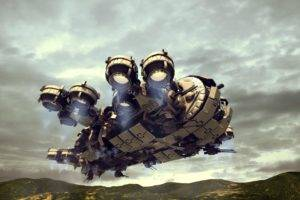 Thunderbolt Gunship, Avitus12, Clouds