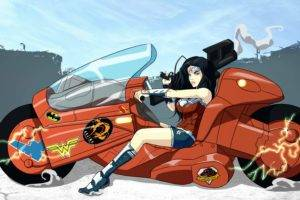 Wonder Woman, Artwork, Akira, Crossover