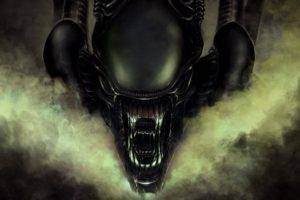 artwork, Aliens, Xenomorph