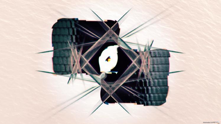 glitch art, Abstract, Digital art, Psychedelic, Artwork, Shapes, Simple background HD Wallpaper Desktop Background