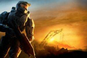 Master Chief, Halo, Video games, Halo Reach, Digital art