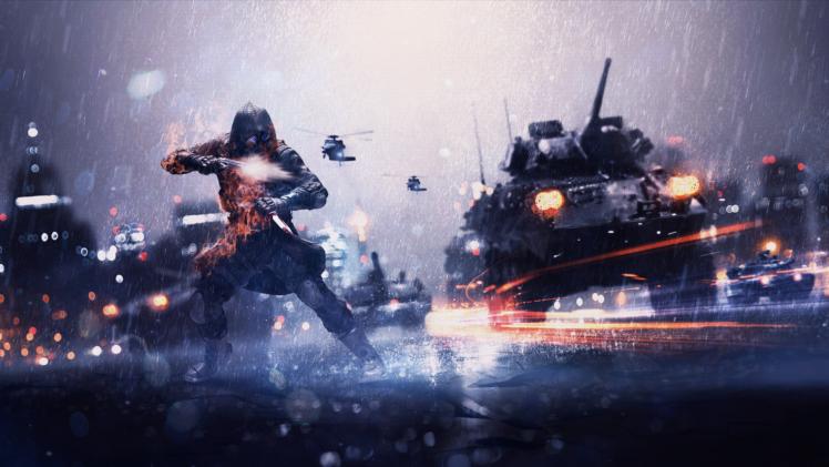Battlefield 1 War Video Game Hd Wallpaper: Soldier, War, Battle, Weapon, Danger, Resident Evil