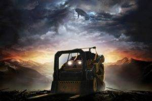 Halo, Forklifts, Video games, Parody, Halo Reach