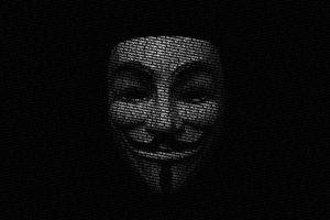 face, Anonymous, Hackers, Hacking, Digital art, Guy Fawkes mask