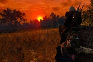 Geralt of Rivia, The Witcher 3: Wild Hunt, Nvidia Ansel