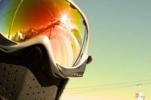 winter, Snow, Goggles
