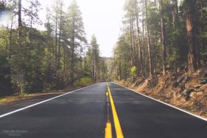 road, Nature, Arizona