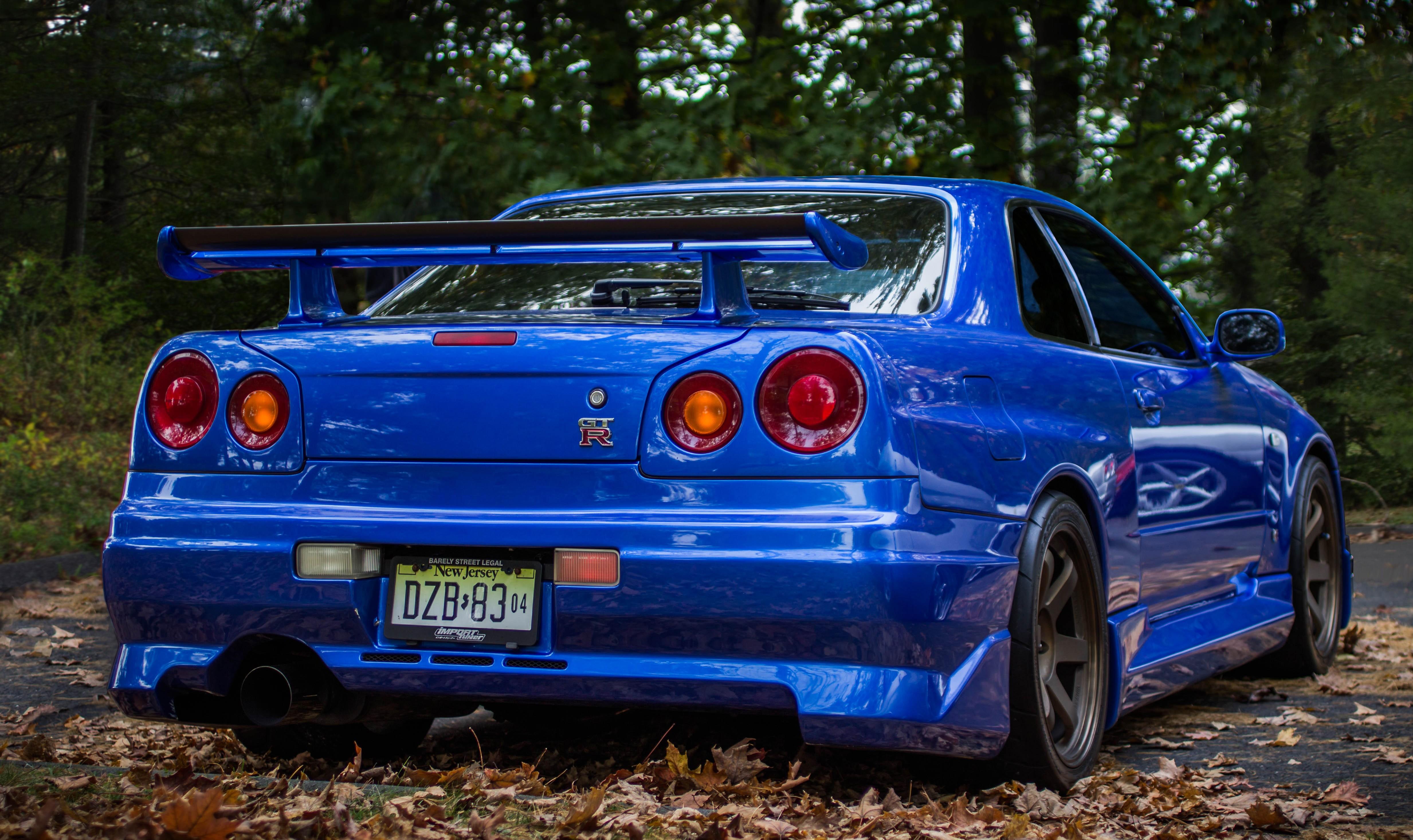 Nissan Skyline GT R R34, Car Wallpapers HD / Desktop And