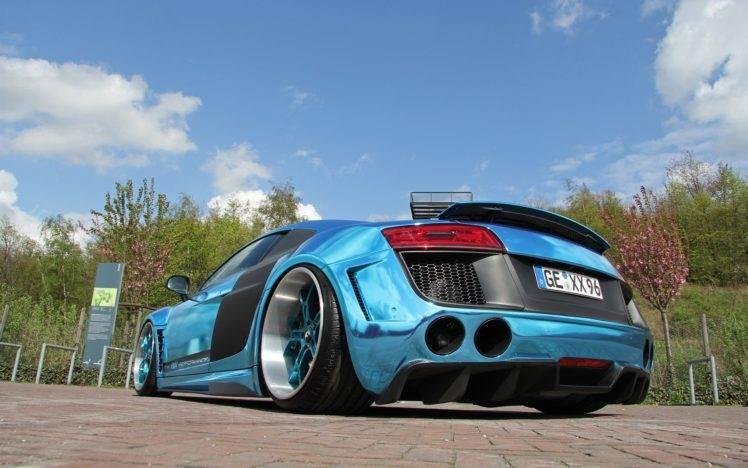 car, Audi, Audi R8 V10, XXx Performance HD Wallpaper Desktop Background