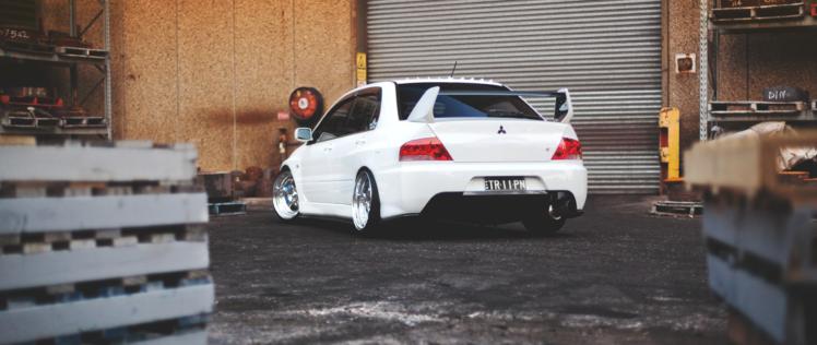 Ultra Wide Car Mitsubishi Lancer Evo Wallpapers Hd