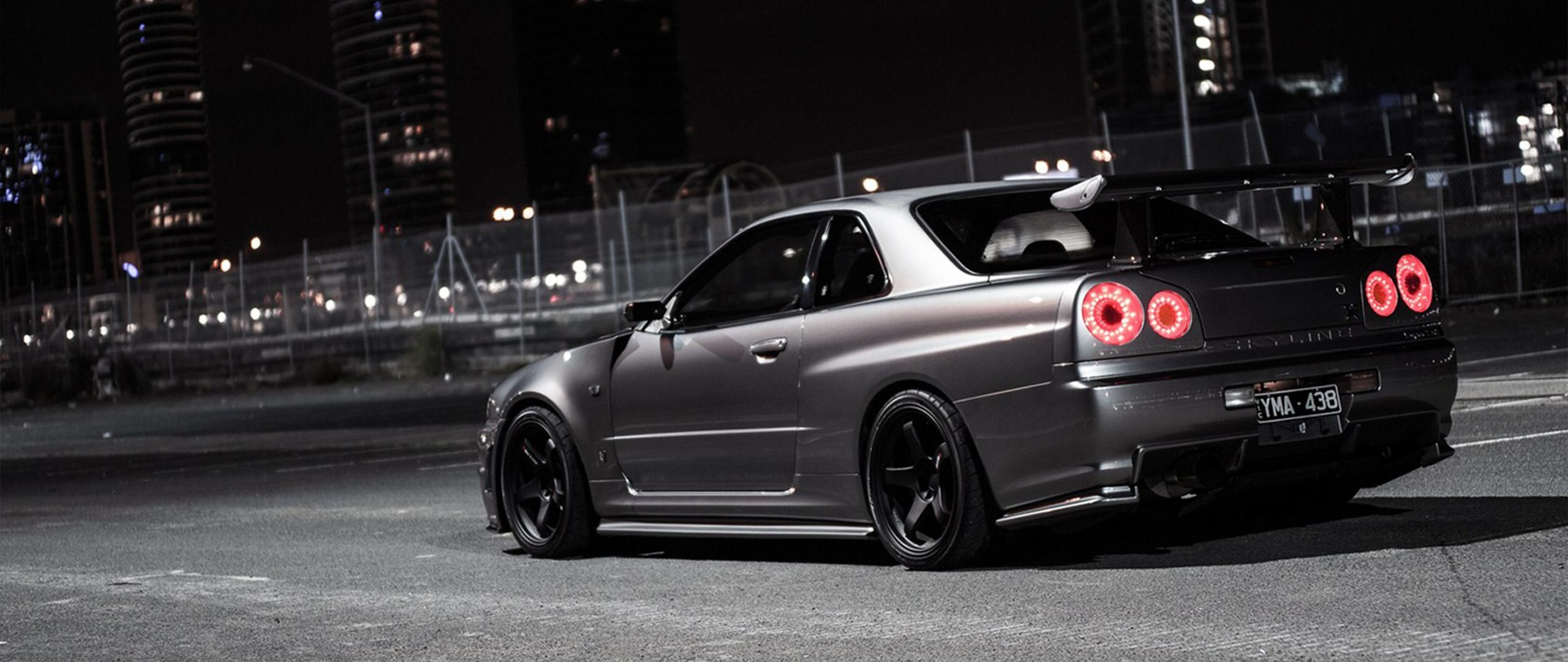 Ultra Wide Car Nissan Skyline Gt R Wallpapers Hd