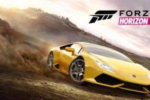 8k, Forest, Car, Forza Horizon 2, Video games, Lamborghini Huracan LP 610 4
