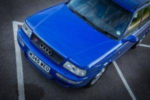 Audi, Audi RS2, Blue, Car
