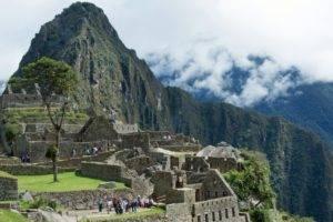 Machu Picchu,   landscape