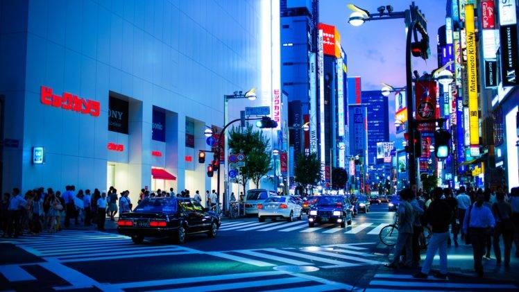 Street Lights Japan Tokyo Wallpapers Hd Desktop And Mobile Backgrounds