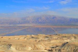 desert, Landscape, Mountains, Dead Sea