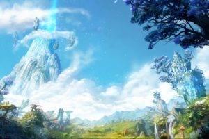 landscape, Fantasy art