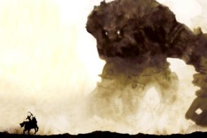 Shadow of the Colossus, Video games, Giant, Colossal Titan, Artwork, Fantasy art