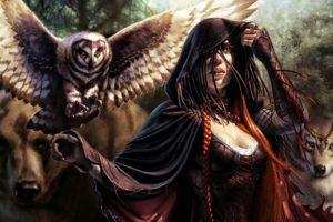 fantasy girl, Fantasy art