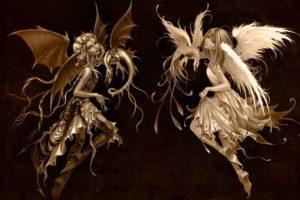 wings, Devil, Angel, Dragon