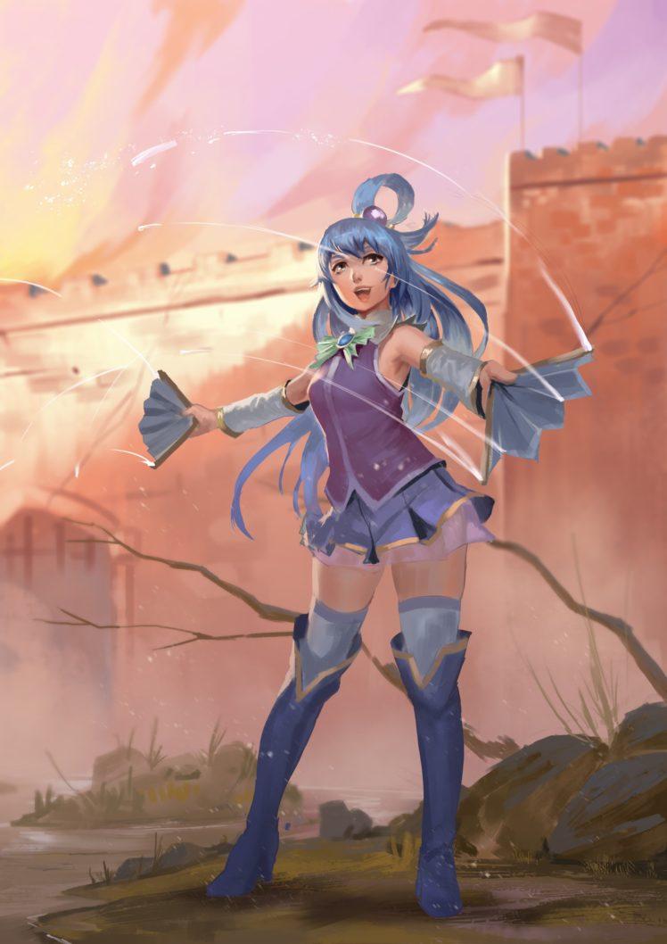 Aqua (character), Fantasy art HD Wallpaper Desktop Background