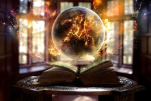 fantasy art, Artwork, Earth, Books, Window, Glass, Galaxy, Globes, Table