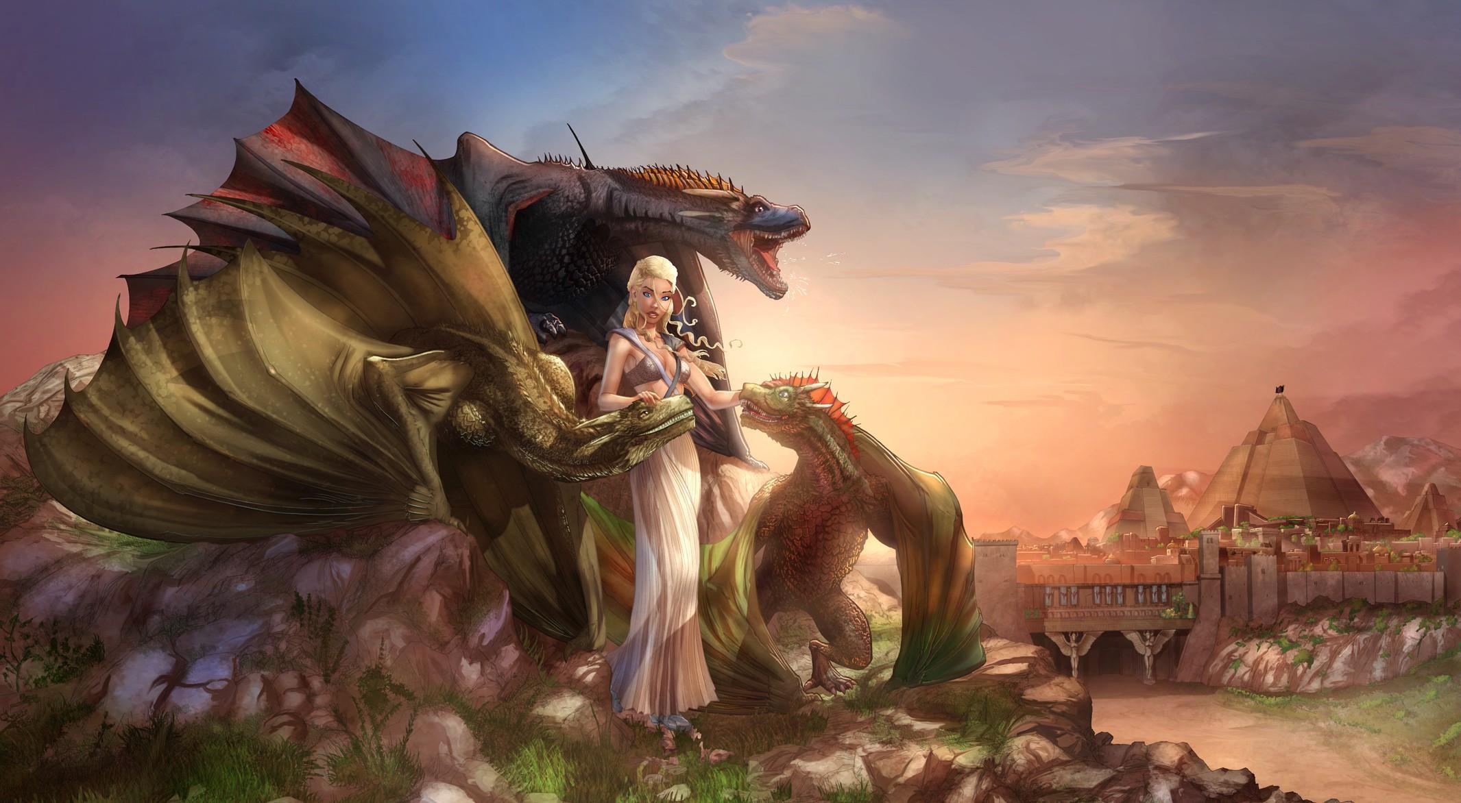 Game of Thrones, Fantasy art Wallpapers HD / Desktop and ...