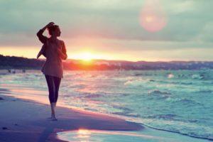 women, Beach