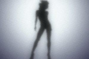 blurred, Outline, Women, Glass, Silhouette