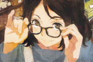 brunette, Anime girls