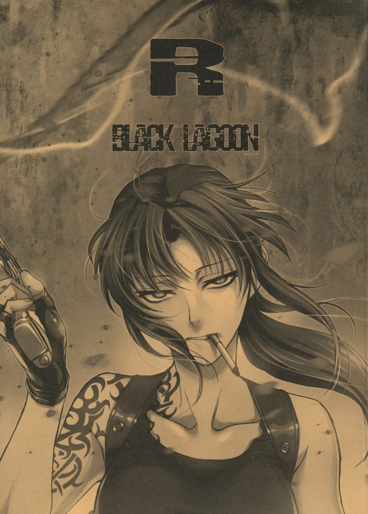 Revy Black Lagoon Anime Girls Wallpapers Hd Desktop And
