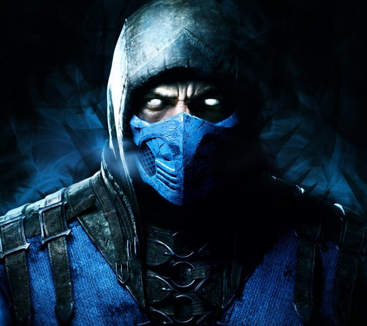 Mortal Kombat X Sub Zero HD Wallpaper Desktop Background