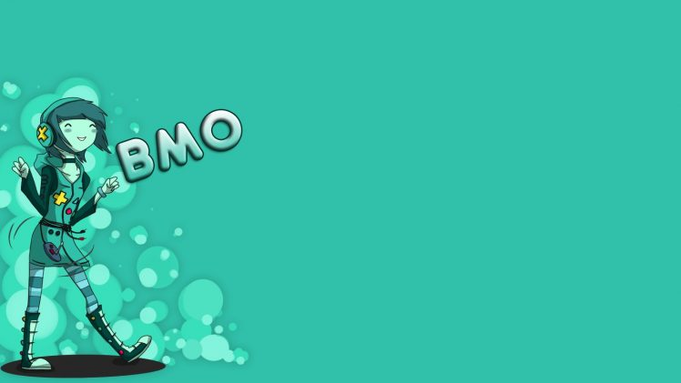 Adventure Time, BMO, Simple background, Blue, Humanized HD Wallpaper Desktop Background