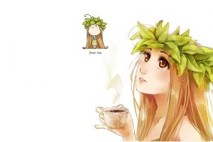 anime girls, Anthropomorphism, Tea