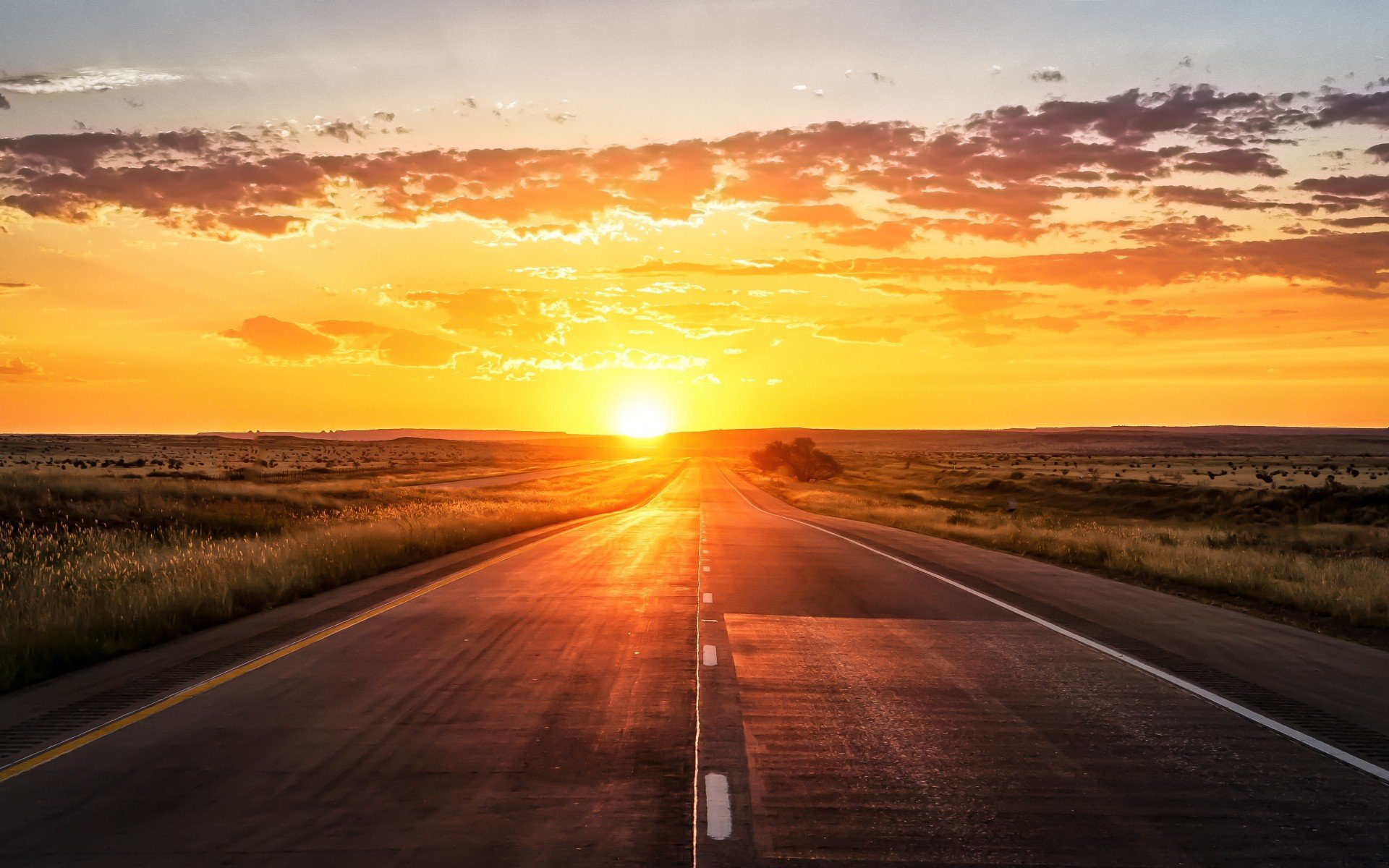 Sun, Road Wallpapers HD / Desktop And Mobile Backgrounds