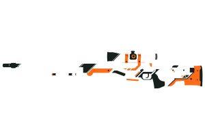 Asiimov, Counter Strike, Counter Strike: Global Offensive, Minimalism