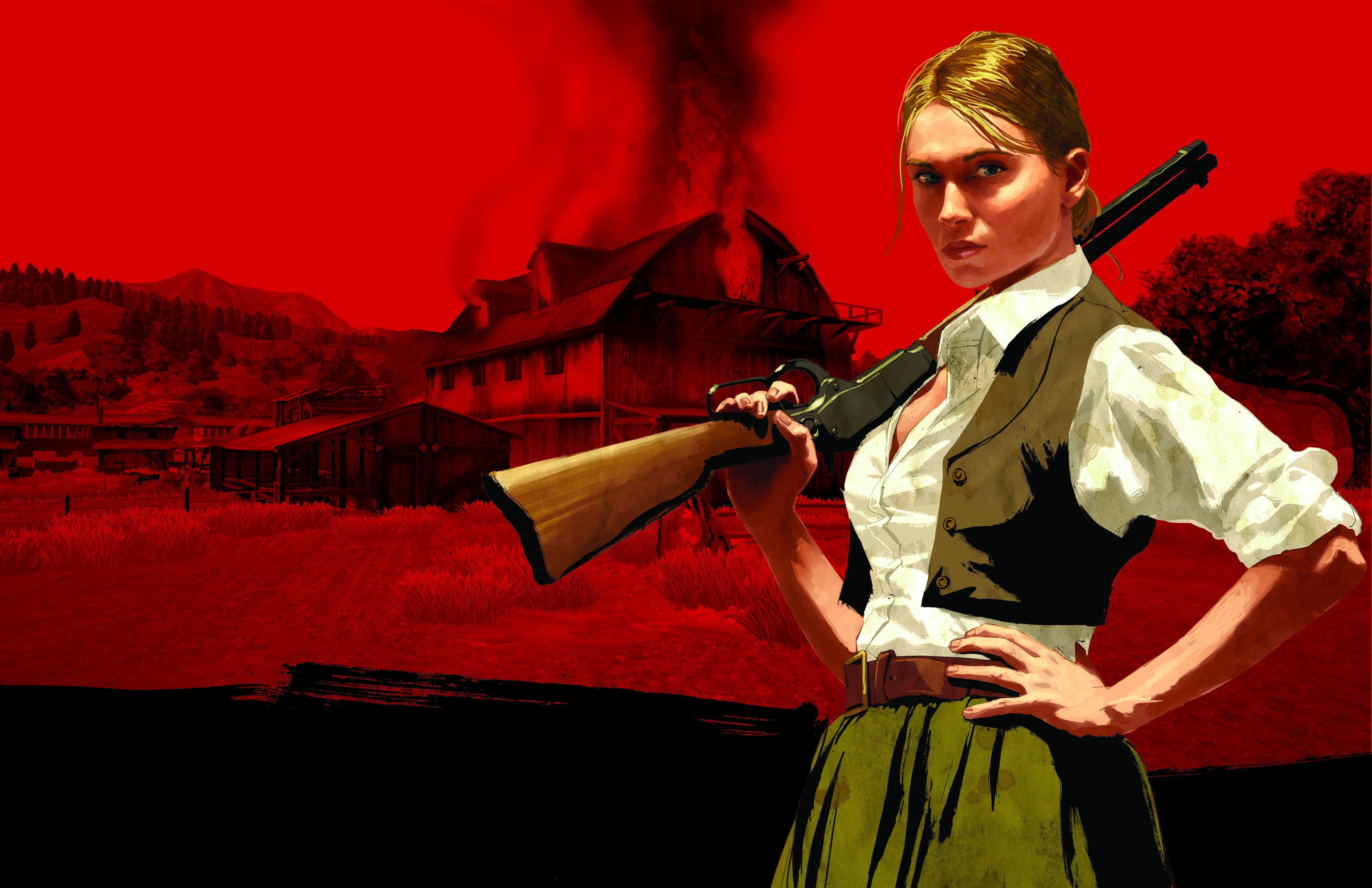 Bonnie Macfarlane Red Dead Redemption Wallpapers Hd Desktop And