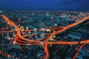 city, Long exposure, Intersections