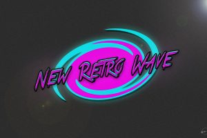 New Retro Wave, Synthwave, Neon, 1980s, Retro games, Vintage, Typography