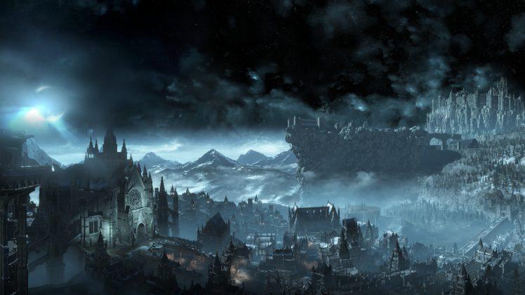 Dark Souls III, Irithyll, Video games HD Wallpaper Desktop Background