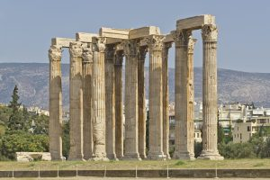 Greek, Architecture, Building, Greece, Ancient, Temple of Olympian Zeus