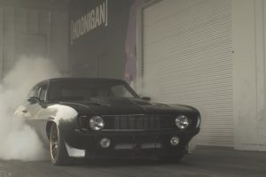 hoonigan, Chevrolet Camaro, Car, Burnout, Donut