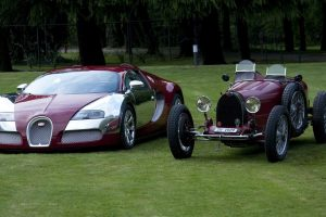 vehicle, Car, Old car, Classic car, Bugatti, Bugatti Veyron, Grass, Bugatti Type 35 Grand Prix